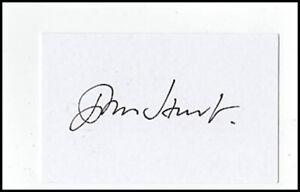John Hurt Alien Harry Potter Lord Rings Original Hand Signed Autograph Card COA