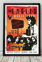 The Eagles poster. Celebrating famous venues and gigs. Specially created.