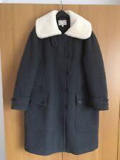 Women's Banana Republic GAP Heritage Collection Grey Wool Coat VGC 12/14