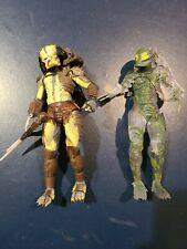 neca predator action figures lot