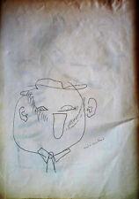 André MARCHAND (1907-1997) Dessin crayon à papier Années 60 Nle Ecole de Paris