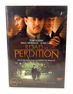 Road to Perdition DVD Tom Hanks Paul Newman Jude Law Region 4 Free Postage