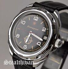 Vostok Wostok 211296 Komandirskie Herren Militär Mechanisch Russische Uhren Neu