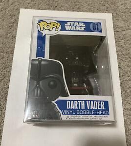 Funko Pop Star Wars Darth Vader 01 BLUE BOX Large Print
