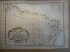 Carte du Brésil - Amazone par Danville v 1750