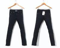 Women's ISABEL MARANT H&M Biker Jeans Denim Pants Black Size 30