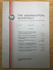 The Aeronautical Quarterly (Royal Aeronautical Society Journal) RARE Feb 1975