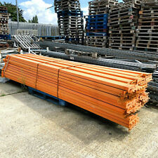 More details for apex pallet warehouse shelving storage racking beam orange  - 390 x 15 x 5 cm