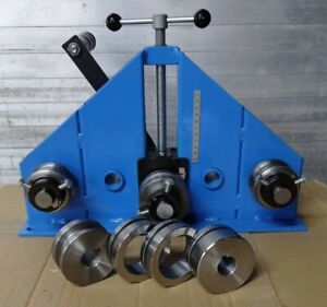 Ring Roller, Tube, Square, Flat Bars, Roller, Profile Box, Roll Bender, Free P&P