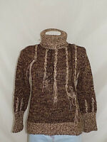 JUST CAVALLI MAGLIONE CON ZIP SWEATER JUMPER DONNA WOMAN TG.54 MADE IN ITALY 277