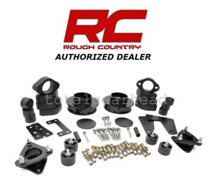"""2009-2011 Dodge Ram 1500 4WD 3.75"""" Rough Country Suspension Combo Lift Kit [352]"""