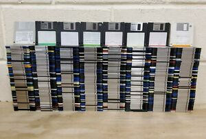 620 x Micro Floppy Disc Job Lot - Sony Memorex TDK OSTAline Imation 2HD PC
