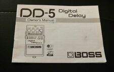 boss dd-5 manual