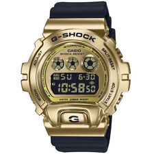 Authentic Casio G-Shock GM6900-9 Gold Steel Metal Bezel 25th Anniversary GM-6900