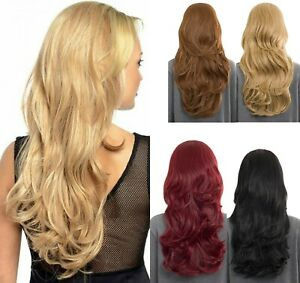 """NEW EMMA NATURAL HAIR LOOK HIGH QUALITY LONG WAVY SYNTHETIC HALF HEAD WIG-28"""""""