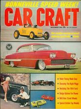 1963 Car Craft Magazine: Bonneville Speed Week/Valve Timing/1964 Ford/Bubble-Top