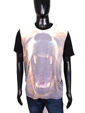 *TopMan Mens T-Shirt Cotton Print 3D size L