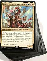 ***Custom Commander Deck*** Obeka, Brute Chronologist - MTG EDH Magic Cards