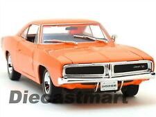 (v188)miniature Dodge Charger R/t Orange 1/18 1969 Maisto