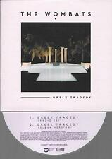 The Wombats Greek tragedy  - CD SINGLE  - 2  track