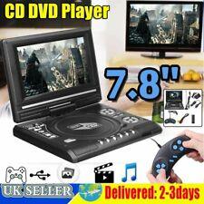 7.8 Inch Portable DVD Player Digital Multimedia Player U Drive FM TV Game UK