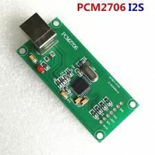 PCM2706 Digital audio USB interface Support I2S DAC decoder board (Italy Amanero
