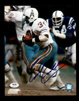 Earl Campbell PSA DNA Coa Hand Signed 8x10 Autograph Oilers Photo
