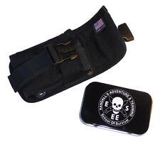 Esee Molle Back Panel Black fits Model 5 or 6 or Laser Strike Knife Sheath