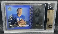 1998 SP Authentic Peyton Manning ROOKIE RC /2000 #14 BGS 9.5 With 2 10 Grades!!