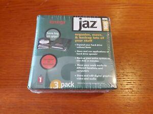 IOMEGA JAZ 1GB, 3 pack, 1 gig per disk, NEW in SEALED Package