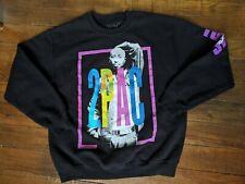 Vintage 90s 2Pac Sweatshirt Size Large Color Black