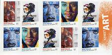 Australia 2017 MNH Street Art 10v S/A Booklet Graffiti Stamps