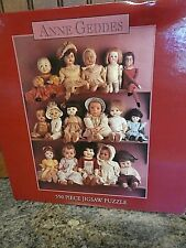 Anne Geddes 550 Factory Sealed Jigsaw Puzzle Antique Dolls Adorable Mint