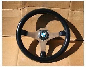 BWA Momo Prototipo Steering Wheel With Hub BMW E30 E28 E26 2002 E9 1602