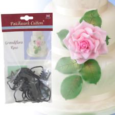Patchwork Cutters Grandiflora Rose Set Sugarcraft