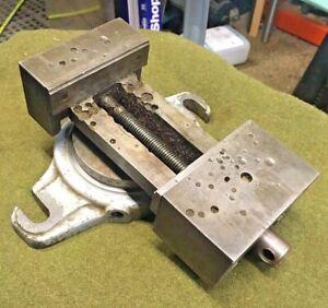"SOUTHBEND Lathe Works Milling Shaper Drill Press Swivel Base 4"" Machine Vise"