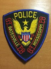 PATCH POLICE BATESVILLE - MISSISSIPPI MS