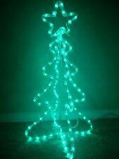 Christmas Tree Rope Light LED Rare Xmas Outdoor/Indoor Decoration