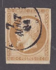 France 1853-60 #14b Emperor Napoleon III - Fine Used