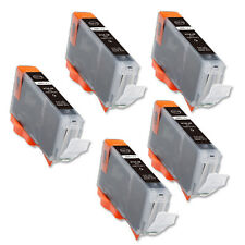5 PK BLACK Replacement Ink for Canon BCI-6BK S800 S820 S830 S900 S9000 i860 i950