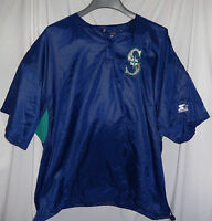 1997 Seattle Mariners #28 JOEY CORA Pre Game Used Worn Warm Up Bench Jacket