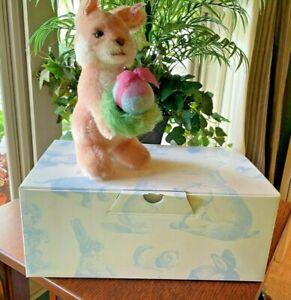 "2011 STEIFF (with ear button) ""Gabriela - The Springtime Bunny"", LE, Box & Paper"