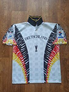 Vintage Germany Deutschland France 1998 World Cup Soccer Football Shirt Size 2XL