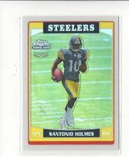 2006 Topps Chrome Refractor #244 Santonio Holmes RC Rookie Steelers
