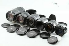 Minolta AF 6 Lens Set 24-50mm, 24mm, 28-105mm, 35-105mm,  50mm, 75-300mm #EL0062