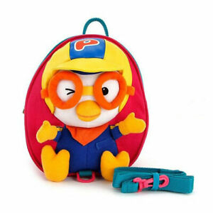 Pororo face safety harness backpack (pink) Pororo harness bag (standard)