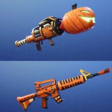 Fortnite Save the World Guns Grave Digger 106PL Jack-O-Launcher 20% OFF Xbox PS4