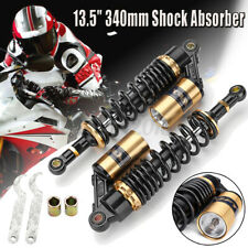 """340mm 13.4"""" Motorcycle Rear Air Shock Absorber Suspension for Honda Yamaha AU"""
