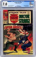 Marvel Comics Strange Tales #159 CGC 7.0 Nick Fury Origin 1st Appear Val 1967