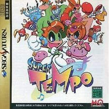USED Super Tempo [Japan Import] Sega Saturn Free Shipping!